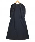 ENFOLD(エンフォルド)の古着「DRESS / ブラウスワンピース」 ネイビー
