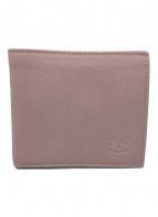 IL BISONTE(イルビゾンテ)の古着「2つ折り財布」|ピンク