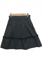 LOUIS VUITTON(ルイ ヴィトン)の古着「フレアスカート」|ブラック