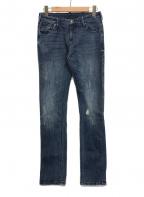 EMPORIO ARMANI(エンポリオアルマーニ)の古着「デニムパンツ」|ブルー
