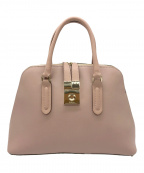 FURLA(フルラ)の古着「レザーハンドバッグ」|ピンク