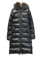 DUVETICA(デュベティカ)の古着「ファーダウンコート」|ブラック