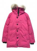 CANADA GOOSE(カナダグース)の古着「ジャスパーダウンジャケット」|ピンク