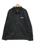 ()の古着「ワークジャケット」|ブラック