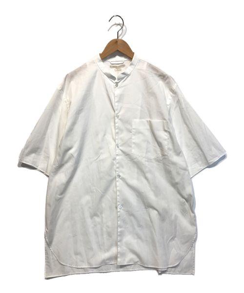 BLURHMS(ブラームス)BLURHMS (ブラームス) HIGH COUNT CHAMBRAY STAND-UP C ホワイト サイズ:2」の古着・服飾アイテム