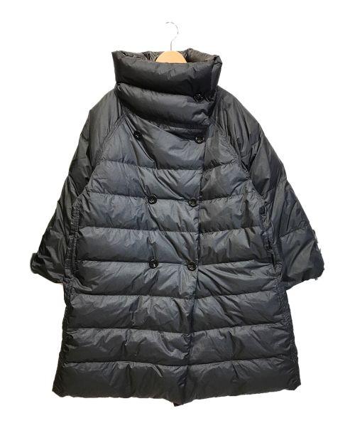 DIESEL(ディーゼル)DIESEL (ディーゼル) リバーシブルダウンダブルコート ブラック サイズ:Sの古着・服飾アイテム