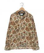 Engineered Garments()の古着「ペイズリー総柄コーデュロイシャツ」|ブラウン