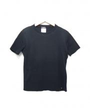 CHANEL(シャネル)の古着「ショートスリーブコットンニット」|ブラック