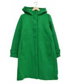 LA MARINE FRANCAISE(マリンフランセーズ)の古着「フーデッドコート」 グリーン