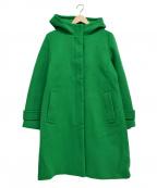 LA MARINE FRANCAISE(マリンフランセーズ)の古着「フーデッドコート」|グリーン