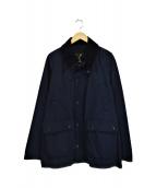 Barbour(バブアー)の古着「ノンオイルドビデイルジャケット」|ネイビー