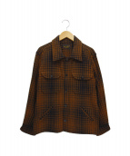 TENDERLOIN(テンダーロイン)の古着「シャツジャケット」|ブラウン