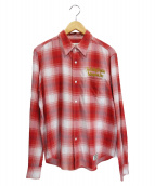 WACKO MARIA(ワコマリア)の古着「シャツ」 レッド