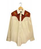 ()の古着「ヴィンテージウエスタンシャツ」|ブラウン