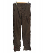 PRADA SPORTS(プラダスポーツ)の古着「ナイロンパンツ」|ブラウン
