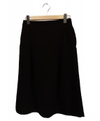 LIMI feu(リミフゥ)の古着「スカート」|ブラック