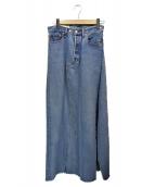 THE SHINZONE(ザ シンゾーン)の古着「リメイクデニムスカート」|インディゴ