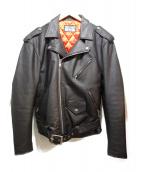 INDEPENDENT(インディペンデント)の古着「ライダースジャケット」|ブラック