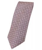 Charvet(シャルベ)の古着「シルクネクタイ」|ピンク