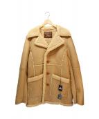 TMT(ティーエムティー)の古着「ORIGINAL MOUTON RANCH COAT」|ブラウン