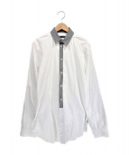 DOLCE & GABBANA(ドルチェアンドガッバーナ)の古着「L/Sシャツ」|ホワイト