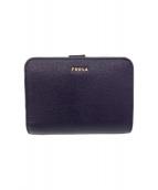 FURLA(フルラ)の古着「2つ折り財布」|ネイビー