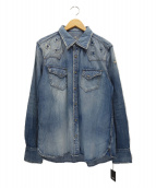 TMT(ティーエムティー)の古着「デニムシャツ」|インディゴ