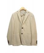 eleventy(イレブンティ)の古着「アンコンジャケット」|ベージュ