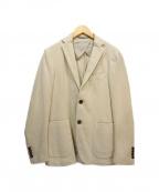 eleventy(イレブンティ)の古着「アンコンジャケット」 ベージュ