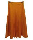GALLARDA GALANTE(ガリャルダガランテ)の古着「リネンマーメイドスカート」|イエロー