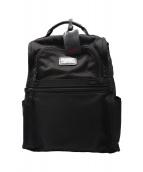 TUMI(トゥミ)の古着「バックパック」 ブラック