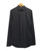 BALENCIAGA(バレンシアガ)の古着「コットンナイロシャツ」|ネイビー