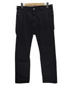 GANRYU(ガンリュウ)の古着「バイカーパンツ」 ブラック