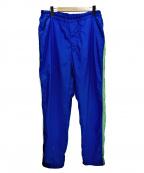 COMME des GARCONS SHIRT BOY(コムデギャルソンシャツ ボーイ)の古着「ナイロントラックパンツ」 ブルー