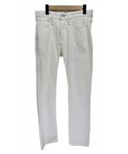 Denham(デンハム)の古着「ホワイトデニムパンツ」|ホワイト