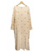 45rpm(45アールピーエム)の古着「刺繍ワンピース」|アイボリー