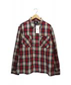 RRL(ダブルアールエル)の古着「チェックシャツ」|レッド×ベージュ