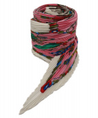 HERMES(エルメス)の古着「プリーツスカーフ」|レッド