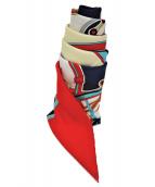 HERMES(エルメス)の古着「シルクスカーフ」|ピンク