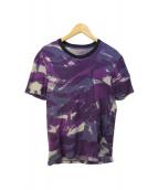 ()の古着「顔料プリントTシャツ」|パープル
