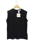 TAO COMME des GARCONS(タオ コムデギャルソン)の古着「ノースリーブカットソー」|ブラック
