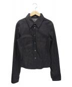 GUCCI(グッチ)の古着「デニムシャツ」 ブラック
