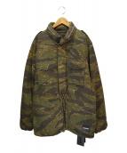 NEIGHBORHOOD(ネイバーフッド)の古着「M-65 . TIGER / C-JKT」|カーキ