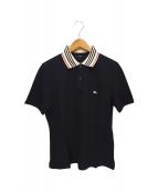 BURBERRY LONDON(バーバリーロンドン)の古着「ポロシャツ」 ネイビー