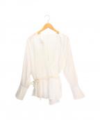 Uhr(ウーア)の古着「Cache-coeur Shirts」|ホワイト