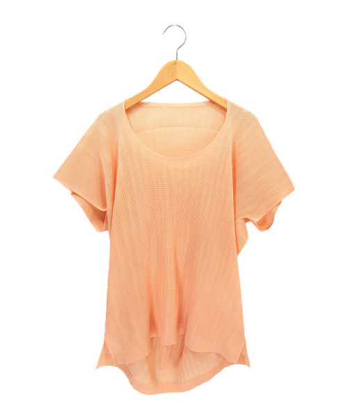 PLEATS PLEASE(プリーツプリーズ)PLEATS PLEASE (プリーツプリーズ) プリーツブラウス ピンク サイズ:3 PP03-FK772の古着・服飾アイテム