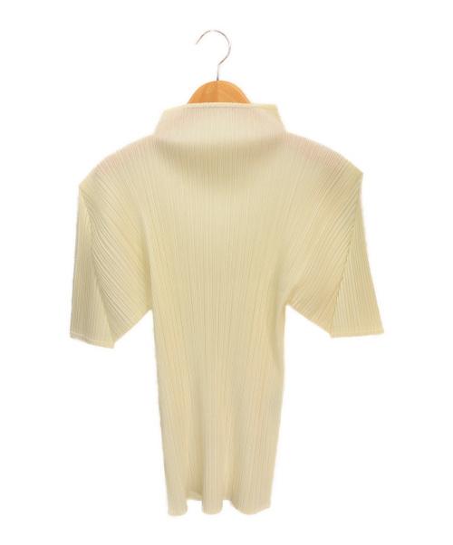 PLEATS PLEASE(プリーツプリーズ)PLEATS PLEASE (プリーツプリーズ) プリーツブラウス アイボリー サイズ:3  PP05-JK003の古着・服飾アイテム
