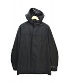 PRADA SPORTS(プラダスポーツ)の古着「中綿フーテッドジャケット」|ブラック