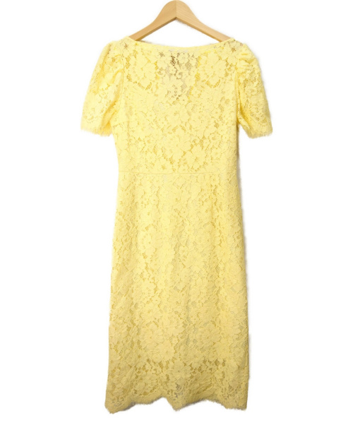 CELFORD(セルフォード)CELFORD (セルフォード) バックシャンレースワンピース イエロー サイズ:36 CWF0181060の古着・服飾アイテム
