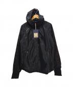 narifuri(ナリフリ)の古着「メッシュフードジャケット」 ブラック